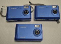 3x Hitachi digital cameras