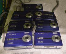 7x Technika digital cameras