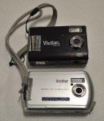 2x Vivitar digital cameras
