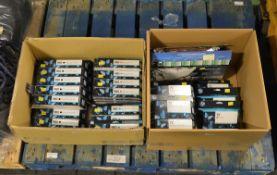 HP Printer cartridges - 980 black x13, 980 cyan x13, magenta x13, DesignJet 72 photo black