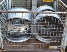 4x HGV Wheel Rims - 22.5in