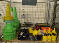 Various Traffic, Vehicle Equipment, Cones,Warning Light Casing