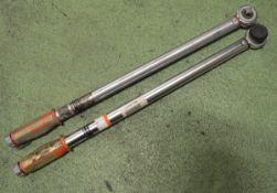 2x Norbar SL3 torque wrenches