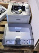 Brother DCP-750CW Printer & Samsung M4020ND ProXpress Printer
