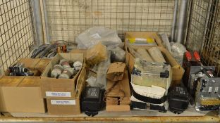 250A Fuses, power supplies, heater elements, Mecury relays