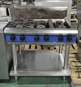 Blue Seal 6 Gas Burner Hob