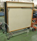 Mobile Folding Table Tennis L2700 x W1530 x H770mm