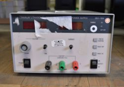Thurlby Thandar TSX3510 Precision DC Power Supply - 35v-10A (Missing Voltage Fine & Curren