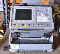 Agilent E4402B ESA-E Series Spectrum Analyzer - 100Hz - 3.0GHz (Scratches on screen)