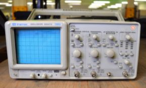 GW Instek GOS-6112 Oscilloscope - 100MHz (Damage as seen in pictures)