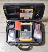 Fluke 199C Scopemeter Color - 200MHz - 2.5GS/s in Case