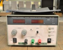 Thurlby Thandar TSX3510 Precision DC Power Supply - 35v-10A (Missing Current Knob)