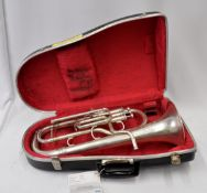 Boosey & Hawkes Imperial Tenor Horn with Case. Serial No. 586863.
