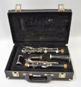 Selmer Clarinet in Case. Serial No. P0067387.