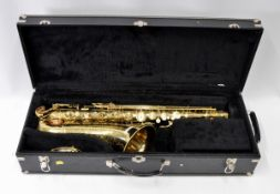 Conn Saxophone with Case. Obvious dents. Serial No. N153795.