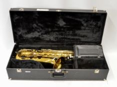 King Model 2416 Saxophone with Case. Serial No. 871174.