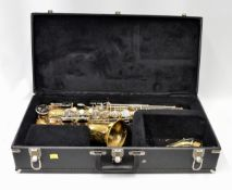 Selmer Bundy II Alto Saxophone with Case. Serial No. 1047884.