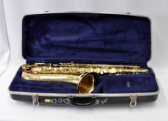 Conn Saxophone with Case. Serial No. N153725.