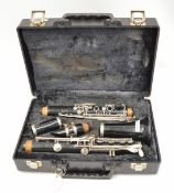 Vito Reso-Tone 3 Clarinet with Case. Serial No. C02493 7212.