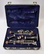 Selmer Clarinet with Case. Serial No. P0071920.