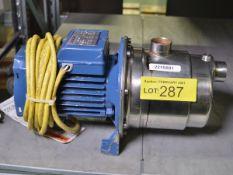 Pedrollo JCR 1A Pump Unit