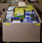 Vehicle Parts - Fuel, Air Filters, Rear Lamps & Mirrors - see picture for itinerary for mo
