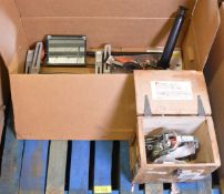 Churchill Brake Efficiency Recorder Tester, Dunlop AGO/40 Optical Alignment Gauge