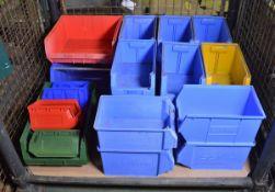 25x Various Plastic Lin-Bins