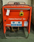 PortaHeater 50 Diesel Water Heater Unit