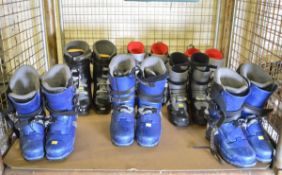 7x Pairs of Ski Boots - various makes & sizes