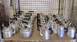 Various Catering equipment - Aluminium Kettles, Tea Pots, Coffee Pots