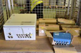 Vibronet Signal Master Machine Condition Monitor Unit, 5x Pruftechnik Vibronet Multiplexer