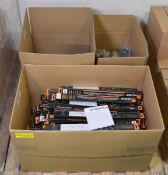 Vehicle parts - Handbrake Cables, Stabiiliser Link & Wiper Blades - see picture for itiner