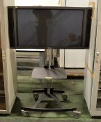 Pioneer PDP-433MXE 43in Plasma Monitor with Stand/Trolley