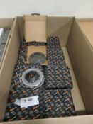 Vehicle parts - Clutch kits - see picture of itinerary for model numbers and quantites - P