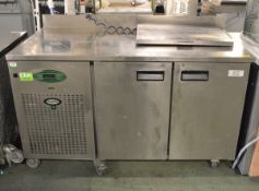 Foster EPRO1/2H Two Door Refrigerated Prep Counter