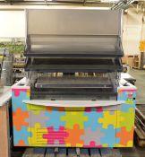 Refrigerated Display Unit on wheels - L1500 x D920 x H1880mm