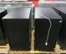 2x Undercounter Chillers