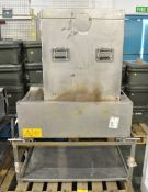Karcher St/Stl Cooker Stand Set, Baking and Roasting Oven W 650 mm x D 500 mm x H 740 mm
