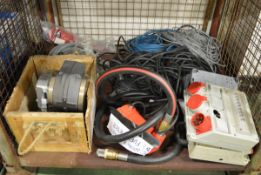 Electric meter fuel reader, Fuel meter counter unit, hose assemblies, cable assemblies, 41