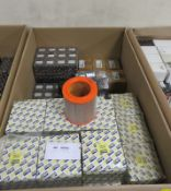 Vehicle parts - Air, Oil & Fuel filters, Thermostat housings - see picture of itinerary fo