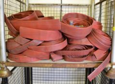 17x Lengths Flat Hose 11cm wide, 20x Lengths Flat Hose 7cm wide