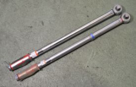 2x Norbar Torque Wrenches