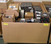 Vehicle parts - Starter motors, LH Brake calipers, Interior blower resistors, Rear brake d