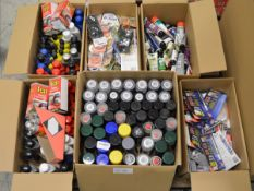 Assorted Car Paint Care/Repair Products