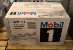 12x 1L Mobil 1 0W-40 Advanced Fully Synthetic Motor Oil