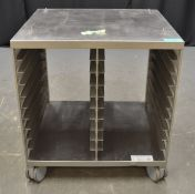 Trolley & Tray Rack Stand UG II for Rational type 61