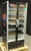 Frigoglass Smart 900 Drinks Chiller (Pepsi Max Branded) - L890 x D710 x H2010mm