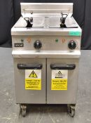 Lincat OE711 Double Fryer - 400v - 3 Phase
