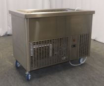 Aspull Refrigerated Mobile Salad Well Serial No.176354 - L1150x W650 x H890mm